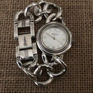 "Brighton ""Modena"" silver bracelet watch"
